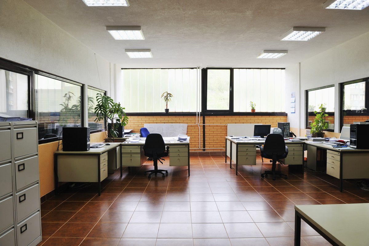 office with computers indoor